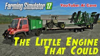 "[""Farming Simulator 17"", ""Ai Cave"", ""FARMING SIMULATOR 2017"", ""Mercedes-Benz"", ""Unimog U400"", ""Mercedes-Benz 700-900"", ""Mercedes-Benz Mods"", ""Unimog Mods"", ""JOHN DEERE 2623 DISC"", ""JOHN DEERE"", ""JOHN DEERE Mods"", ""Major Payne"", ""The Little Engine That Cou"