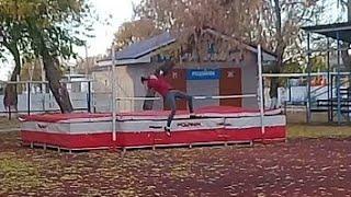 Спорт/ Легкая атлетика/ Прыжки в высоту/ Тренировка/ Влог