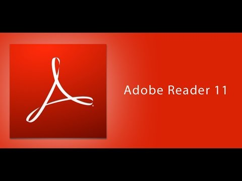 Adobe reader 11 OR XI download & install