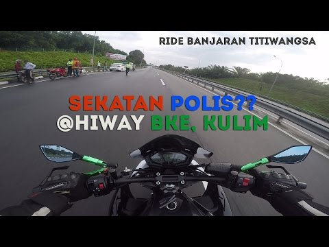 Ride to Banjaran Titiwangsa runaway from police roadblock at BKE