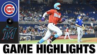 Cubs vs. Marlins Game Highlights (8/14/21)