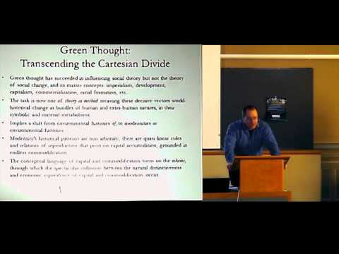 Jason W. Moore, Modernity's Crises and the Myth of Sustainability in the Capitalist World-Ecology