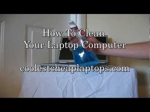 How To Clean Your Computer Laptop for Free