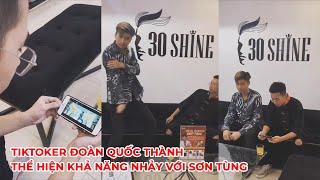 TikToker Đoàn Quốc Thành thể hiện khả năng dance kết hợp với Sơn Tùng M-T-P   #Shorts
