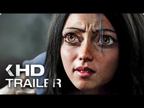 ALITA: Battle Angel Trailer (2019)