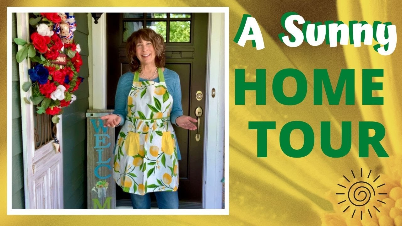 Summer Home Tour 2020 Sunny and Sweet 🍋🌳