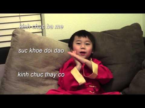 Vietnamese/Chinese Lunar New Year Children