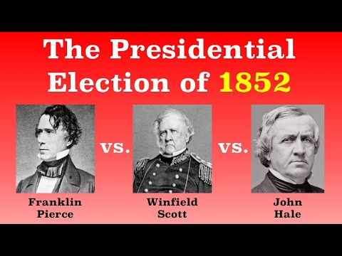 The American Presidential Election of 1852