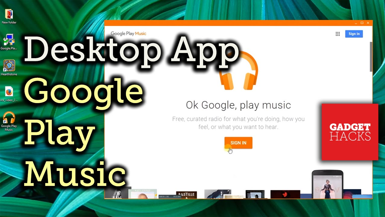 Install google play music desktop player on your pc | technastic.