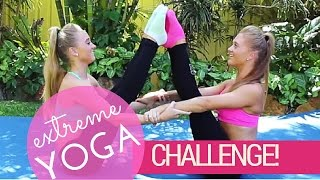 Video Extreme Yoga Challenge! | Teagan & Sam download MP3, 3GP, MP4, WEBM, AVI, FLV Desember 2017