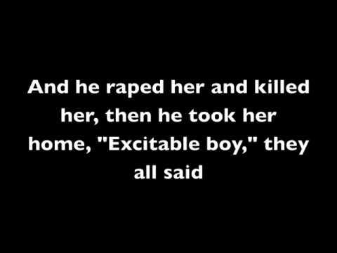 """Excitable Boy"" - Warren Zevon LYRICS"