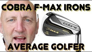Cobra F- Max irons - Average Golfer #tagers
