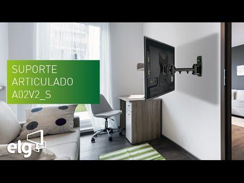 Suporte articulado a02v2 s youtube - Soporte articulado tv ...