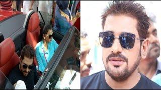 নায়িকা বর্ষার সঙ্গে দামি গাড়িতে করে এফডিসিতে এলেন অনন্ত জলিল || Ananta Jalil News