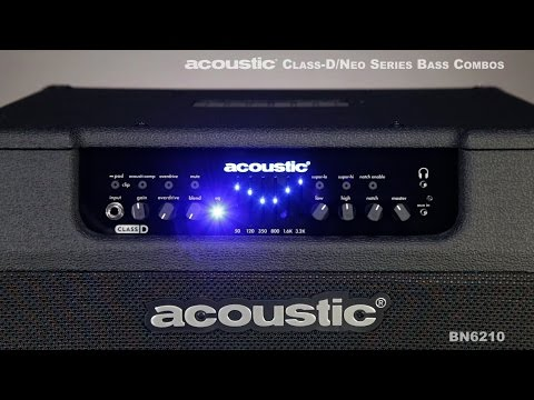 Acoustic Class-D/Neo Series Bass Combos
