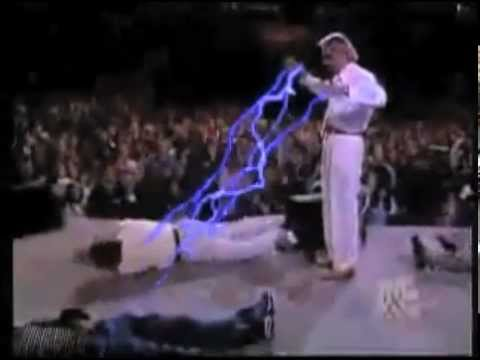 Benny Hinn The Force And A Mad Lightsaber Youtube