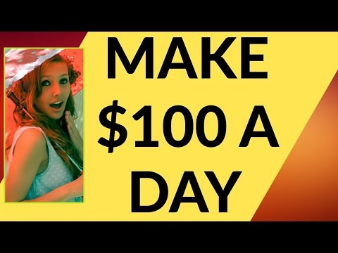 Make $100 A Day Online 2019 💚 BROKE to $100 Per Day [PART 1] 💚🔥💋