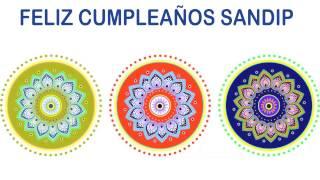 Sandip   Indian Designs - Happy Birthday