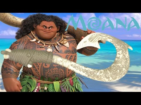 Disney moana maui light up fishhook from the disney store for Magical fish hook