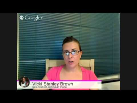 Time To Save with Vicki Stanley Brown #1