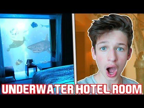 $8000 PER NIGHT *UNDERWATER* HOTEL ROOM - Atlantis The Palm Dubai