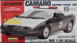 Z-28 Camaro Highway Patrol Car 1:20 Scale Lindberg #72577 -Model Ki...