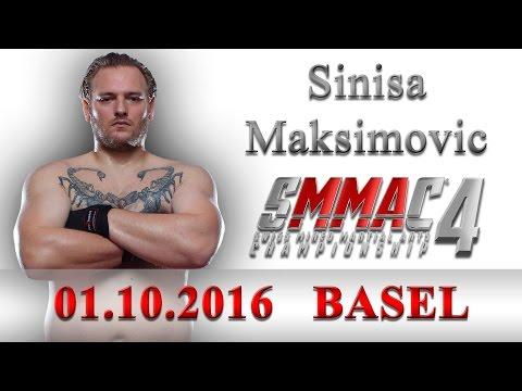 Sinisa Maksimovic bei SMMAC4 01.10.2016 Basel