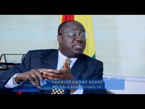 Interview with MD of Ghana Airport Company Limited Mr Charles Kwame Asare.