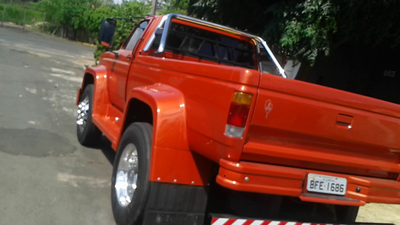 Don Brown Chevrolet >> Caminhão transformado em Pick-up GM - YouTube