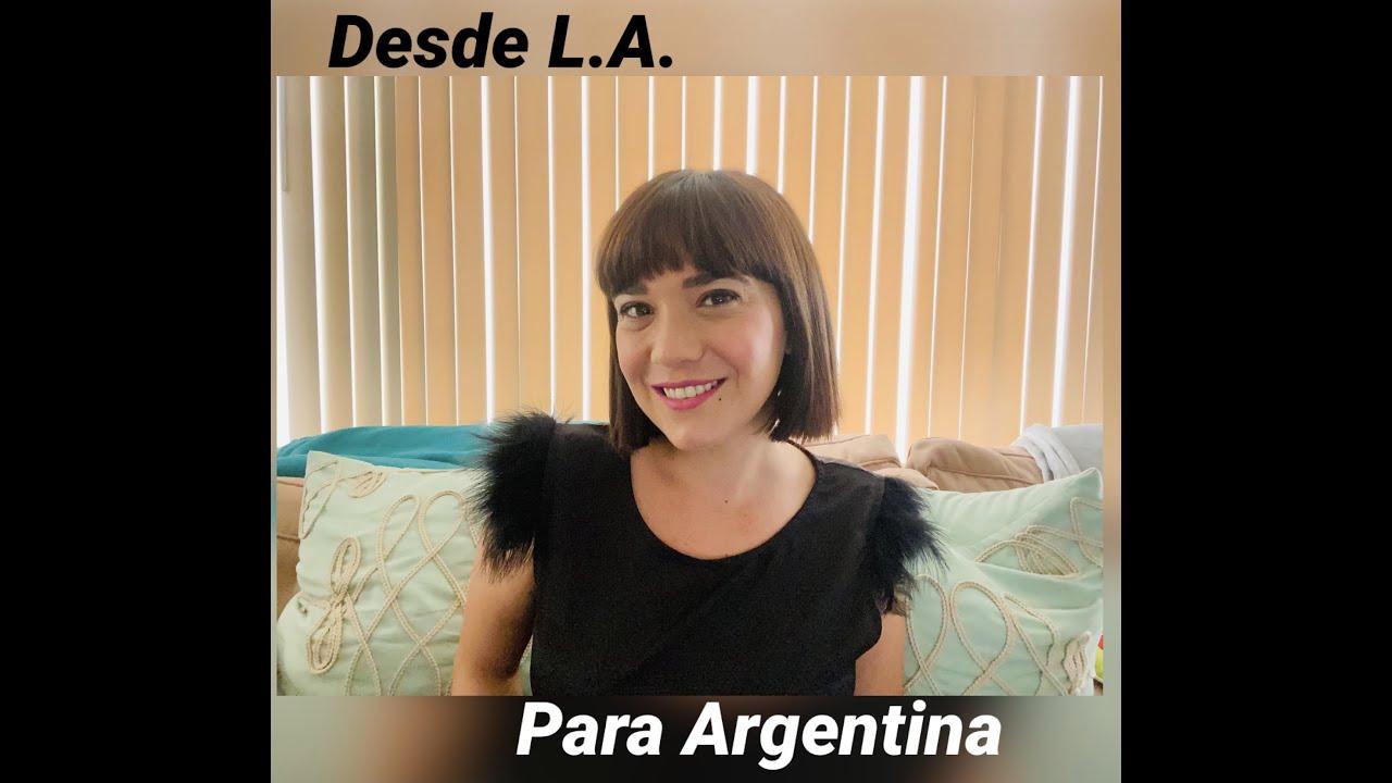 """Lupe Fuentes Cambiasso desde Los Angeles en """"Tardes de Primera"""" con Huguex Cabrera"""
