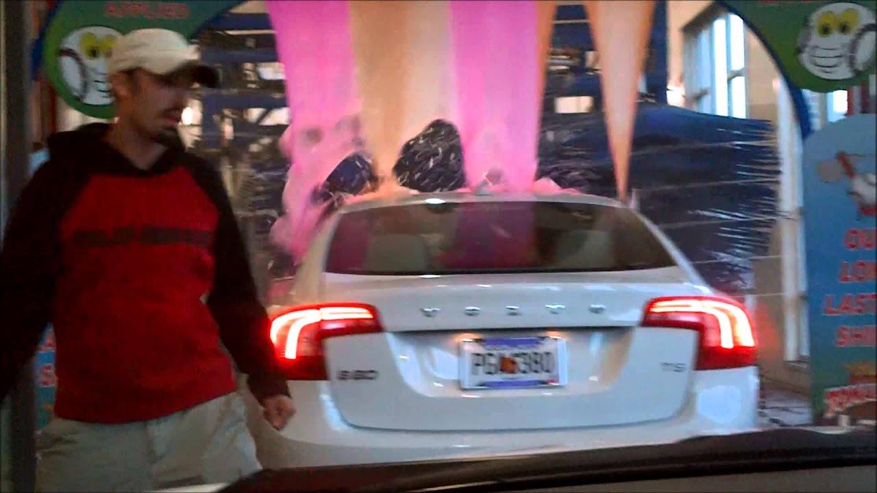 Lava Foam Car Wash