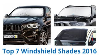 7 Best Windshield Shades 2016