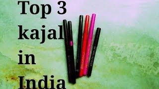 Top 3 Kajal Pencils Under Rs 200/- I Best Kajals in India I Affordable & Safe Kajal for eyes