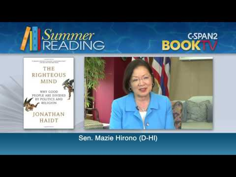 What is Sen. Mazie Hirono (D-HI) reading this summer?