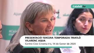 Presentació Tercera Temporada Triatló Vilarenc Aqua