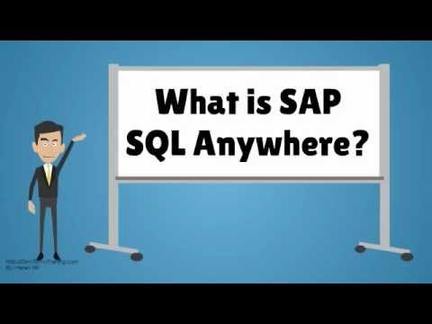 What is SAP SQL Anywhere?