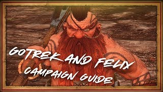 GOTREK & FELIX CAMPAIGN GAMEPLAY GUIDE, BATTLE FOOTAGE AND LORE!