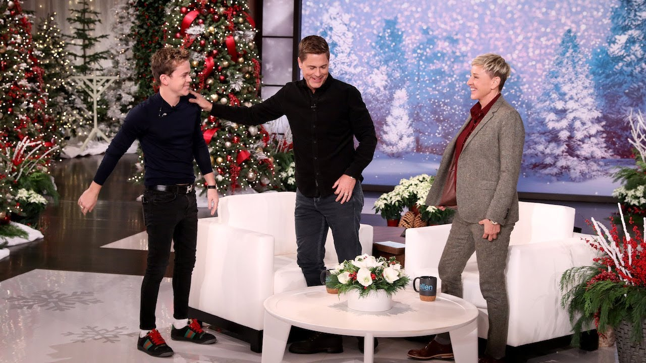 Download Rob Lowe's Son Trolls Him from Backstage