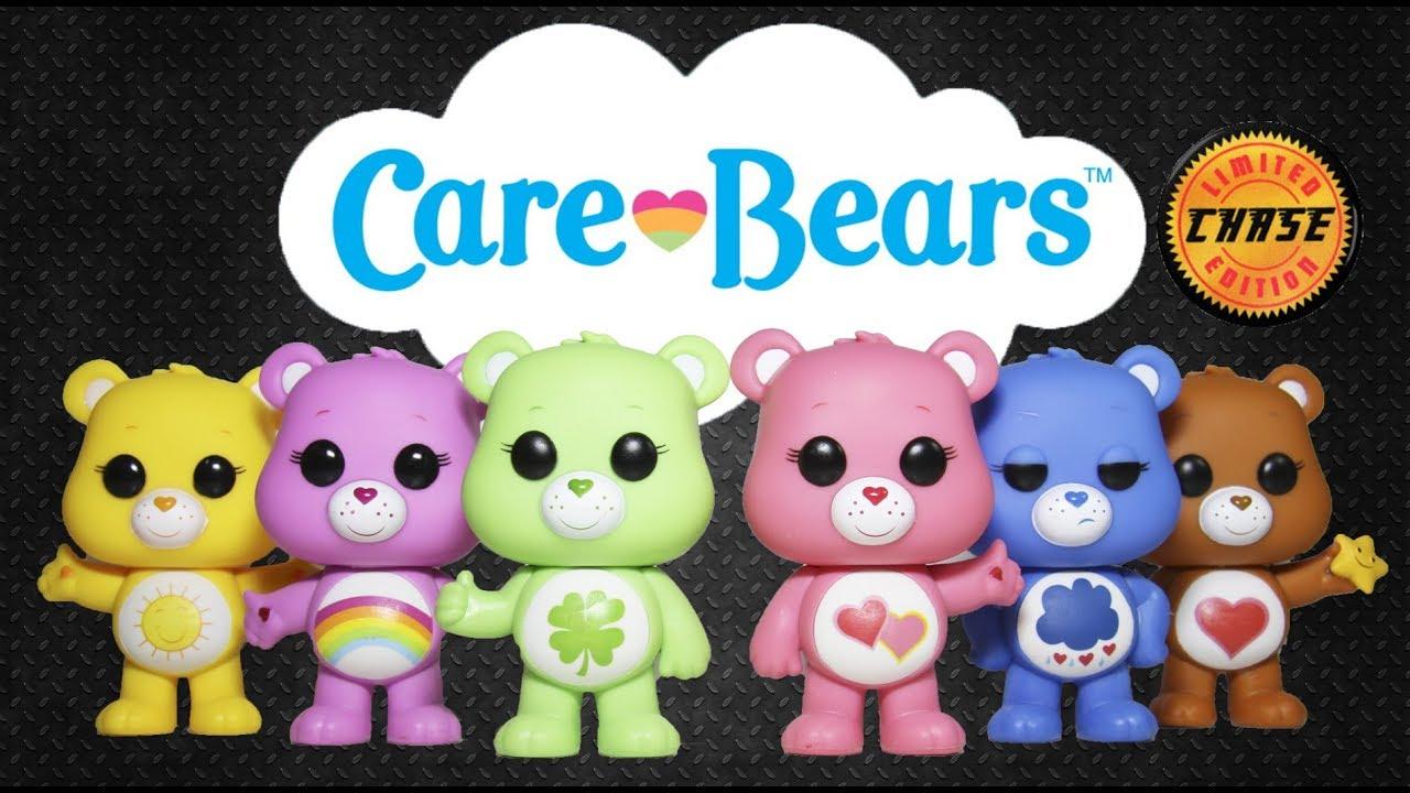 Care Bears Funko POP Set of 5 Funshine Good Luck Love A Lot Grumpy Cheer NEW!!
