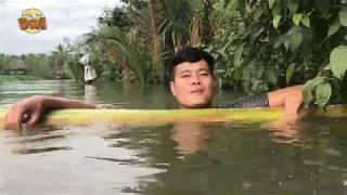 Khương Dừa về quê kêu Bà Nội gần 90 tuổi tắm sông ôn lại tuổi thơ và cái kết!!!
