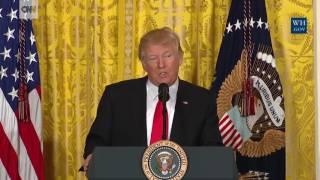 Trumps common speech habits as US President