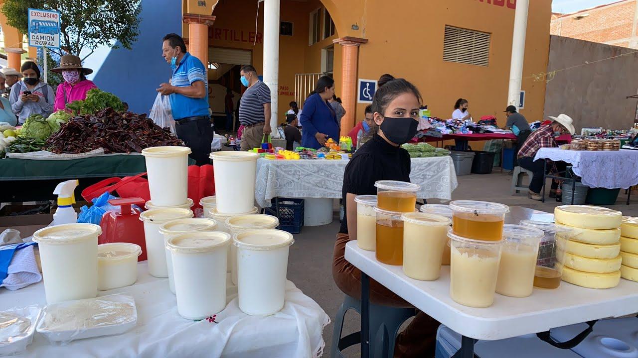 Comprando Jocoqui y Miel en Valparaíso Zacatecas 2020 | Julio 12