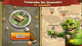 Linea Maginot Campaña de Duendes Clash of Clans