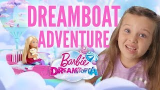 Adventure in the Dreamtopia Dreamboat | Barbie