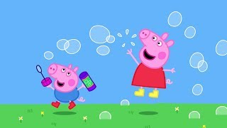 Peppa Pig English  Peppa's Painting Game  Soft Play   Свинка Пеппа   Игра Раскраска Пеппы