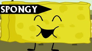 All BFDI 1a to BFB 15, but only Spongy was on screen
