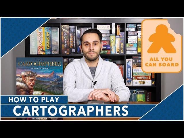 Cartographers: How to Play by All You Can Board