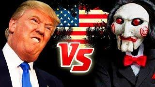 DONALD TRUMP SAW GAME RAP   Trump Saw Game - ManoloTEVE
