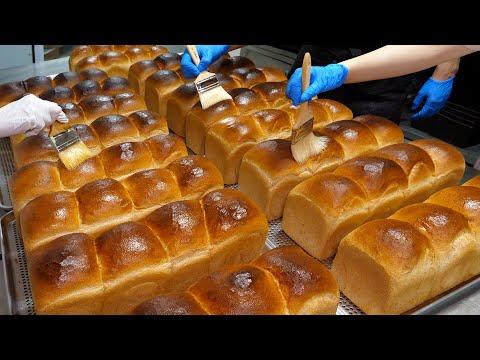 건강한 빵! 유기농 밀로 만드는 통밀식빵과 샌드위치 / Organic Whole Wheat Bread and Sandwich