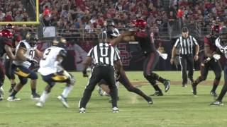 SDSU FOOTBALL: AZTECS 45, CALIFORNIA 40 - 9/10/16